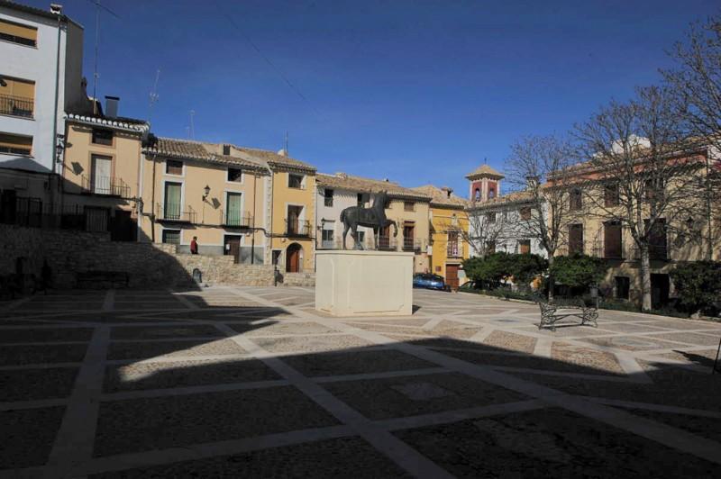 The Plaza de los Caballos del Vino in Caravaca de la Cruz