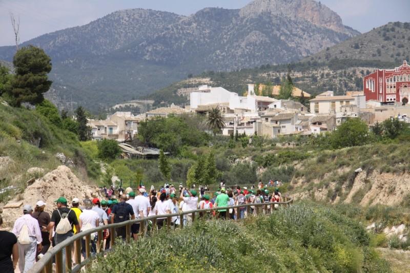 The Camino de Levante from Orihuela to Caravaca de la Cruz