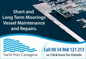 Yacht Port Cartagena