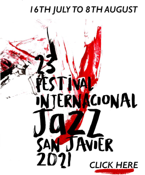 San Javier Jazz 2021 Banner
